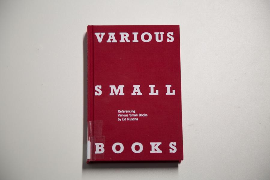 edruscha-varioussmallbooks