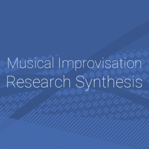 Musical Improvisation Research Synthesis - Title Graphic