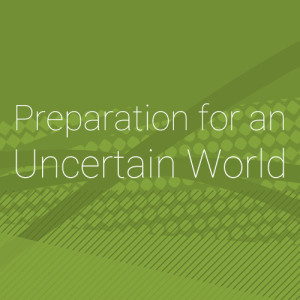 Preparation for an Uncertain World - Title Graphic
