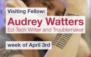 Audrey Watters blog post